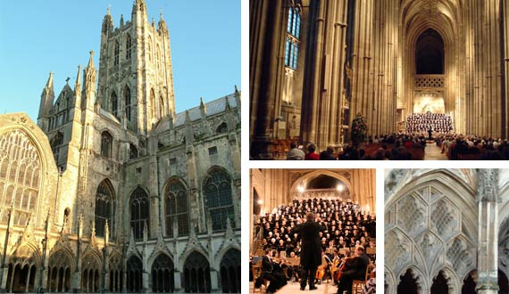 Canterbury Cathedral venue for Canterbury Choral Society concerts since 1951