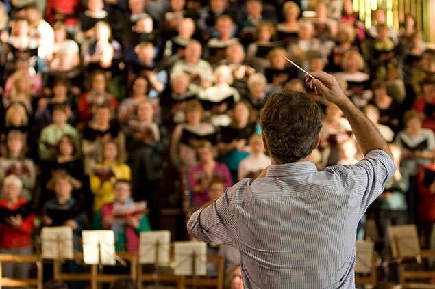 join Canterbury Choral Society page