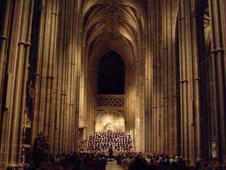 Canterbury Choral Society concert at Canterbury Cathedral