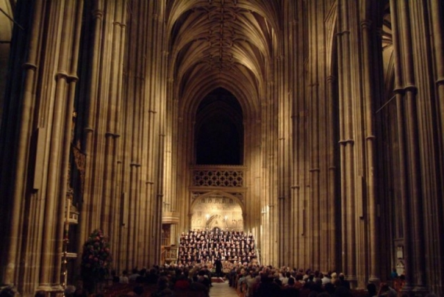 Canterbury Choral Society concert at Canterbury Cathedral