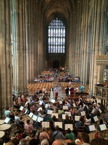 Canterbury Cathedral Rehearsal