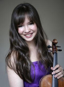Juliette Roos violinist
