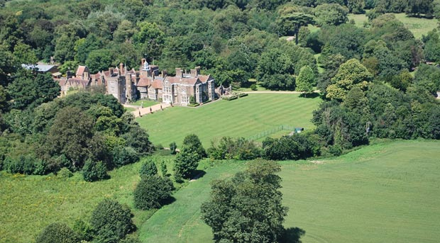 Northbourne Park School aerial view