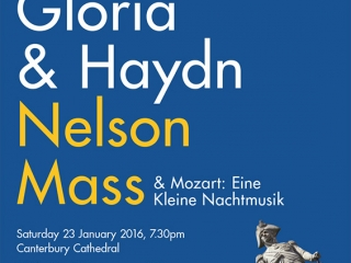 Nelson Mass Canterbury Choral Society poster