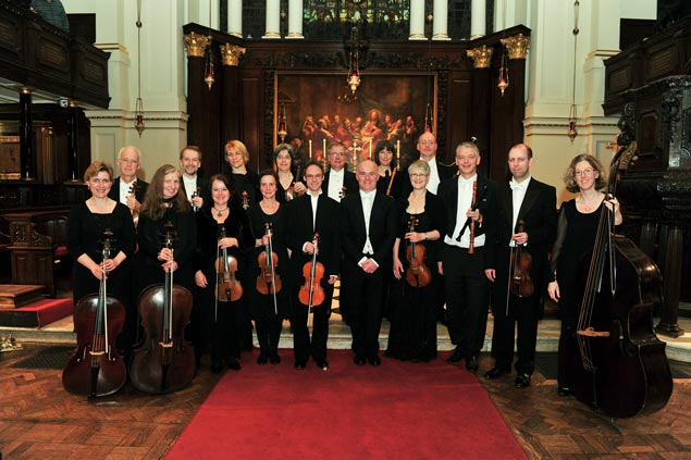 London Handel Orchestra in Canterbury Cathedral