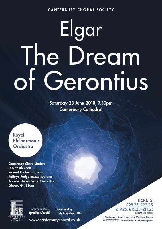 CCS posters The Dream of Gerontius